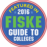 Featured in 2016 Fiske Guide to Colleges