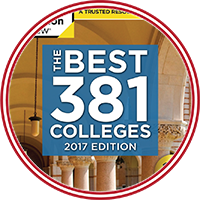 The Princeton Review - the Best 381 Colleges - 2017 edition