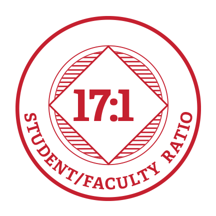 17:1 Student/Faculty ratio