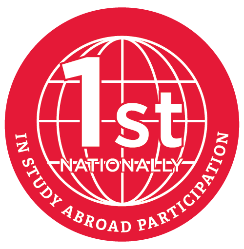 2nd Nationally in Study Abroad Participation